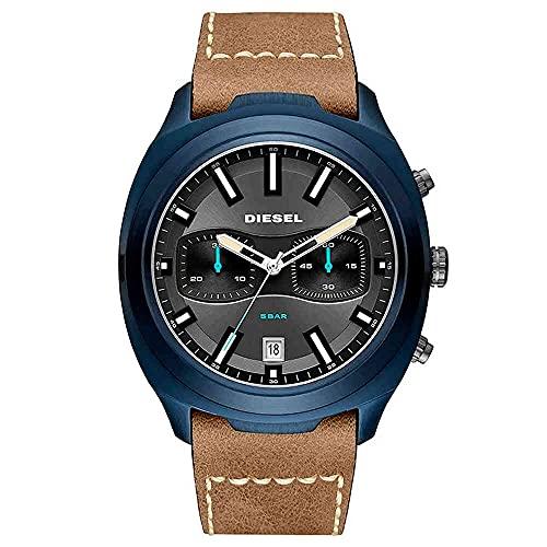 Relógio Diesel Brave Blue Analógico Masculino DZ4490/0MI