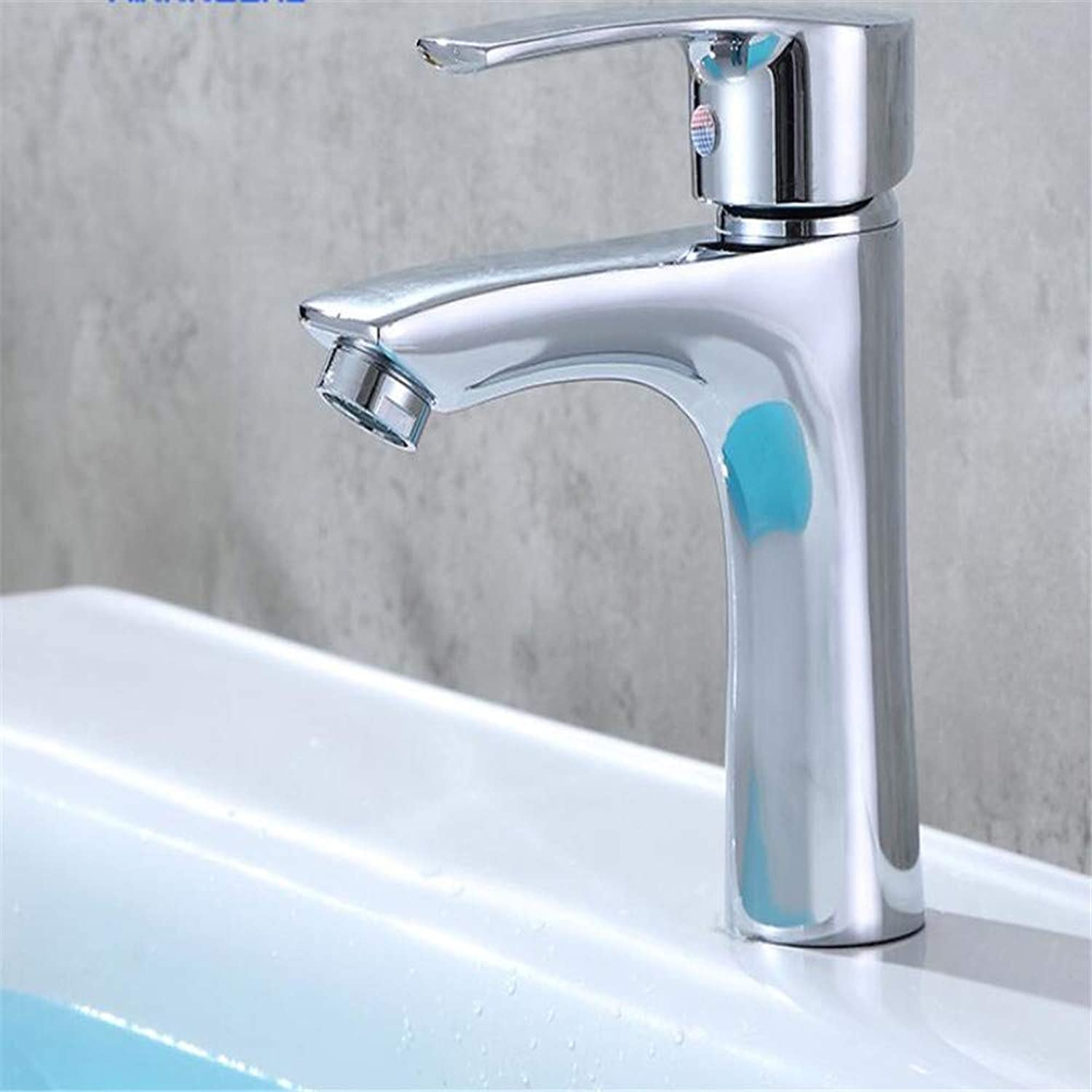 Basin Mixer Tap High-Standard Basin Faucet Hot and Cold Water Single Hole