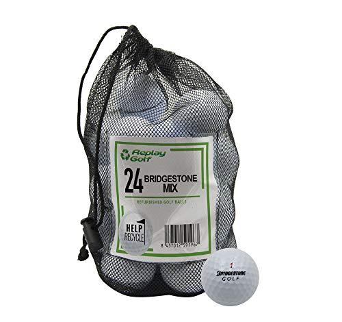 Replay Bridgestone Models, Refurbished, 24 Ball Mesh Bag