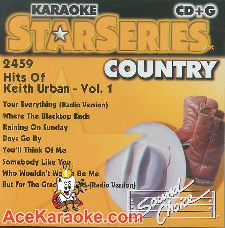 Karaoke: Hits of Keith Urban 1