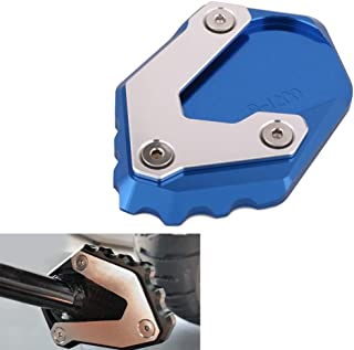 XZANTE Almohadilla de Pata de Cabra para Motocicleta Disco Soporte de Soporte de Patada para Touring Sportster