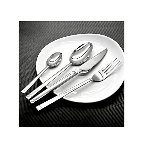 Amefa Charon Stainless Steel Cutlery Set, 24-Pieces, Silver