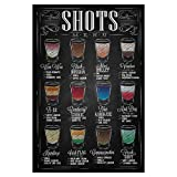 artboxONE Poster 30x20 cm Essen & Trinken Shot - Menü