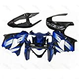 SG FAIRINGS Blue Black Motorcycle Complete Fairings For 2002 2003 ZX-9R zx9r 02 03 ABS Plastic Bodywork Body Frames 2002 ZX-9R 2003 Covers