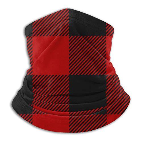 Pillow Socks Lumberjack Plaid Seamless Bandanas Stirnband Multifunktionaler Sturmhaubenschal Kopfbedeckung Halsschutz für Staubschutz, im Freien, Sport