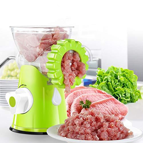 DJG Haushalt Multi-Funktions-Fleischwolf, Hand Kochen Maschine, Edelstahl Haushalt Kochen Maschine, Gemüse/Knoblauch/Fruchtfleischwolf (Fleischwolf)