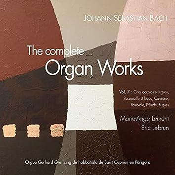 Bach, the complete organ works Vol. 7: toccatas et fugues, 8 petits préludes et fugues, Canzona, Pastorale (Orgue Grenzing de l'église de Saint-Cyprien en Périgord)