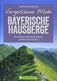 Wanderführer Bayerische Hausberge: Vergessene Pfade Bayerische Hausberge. 40 ruhige Touren zum Wandern abseits des Trubels durch unberührte Natur in ... außergewöhnliche Touren abseits des Trubels
