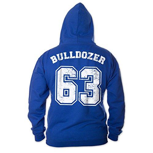Bud Spencer Herren Bulldozer 63 Hoodie (blau) (3XL)