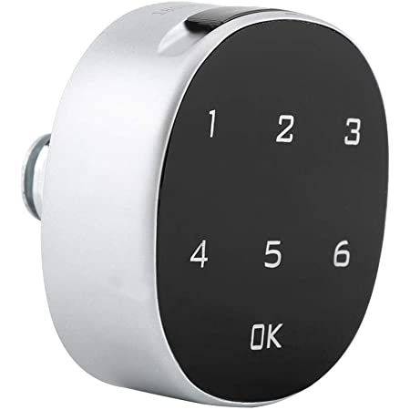 serrure intelligente de code de porte de cabinet avec panneau en plastique ABS pour le blocage de larmoire de stockage public ou priv/é Serrure /électronique de cabinet
