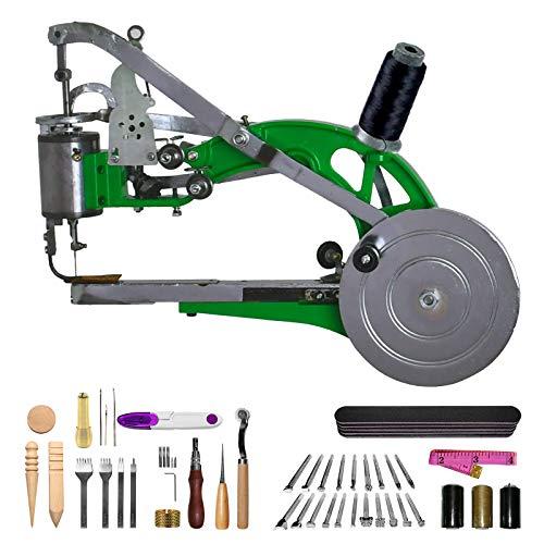 DCHOUSE – Máquina de coser Cobbler para reparación de zapatos Dual Cotton Line