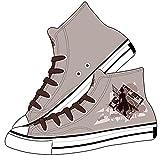 CEATLYRING Zapatillas De Lona Genshin Impact Zhongli,Deporte Zapatos Anime Unisex Cosplay Impreso Casual Cómodo Moda Shoes China 34-45