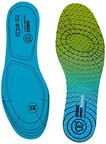 SIDAS Sohlen Impact Reducer Dual Foam-Einlegesohlen, Blue/Green, XXL, CSEESIMREDDF19
