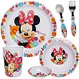 alles-meine.de GmbH 5 TLG. Geschirrset - Disney - Minnie Mouse
