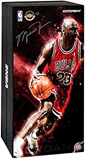 Enterbay Real Masterpiece 1/6 Collectible Figure Michael Jordan [#23 Road Edition]