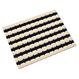 Professional Grade Non-Slip Shower Bath mat with Multiple use Non Suction Cup mat for Healing, Massaging & Exfoliation Great for Walk in Showers Kitchens Laundry Room Indoor Outdoor (2-Tone Beige)