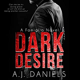 Dark Desire audiobook cover art