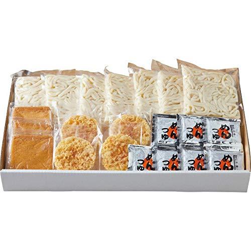 せい麺やの讃岐うどんきつね&天ぷらセット(7食)