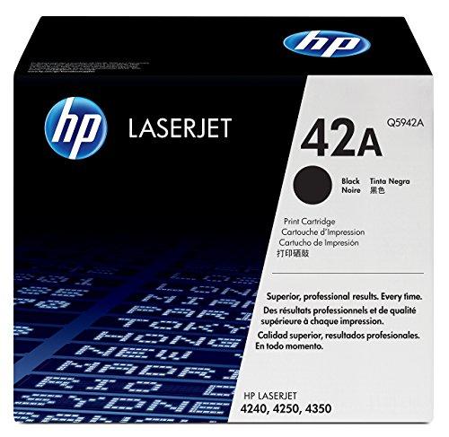 HP 42A Schwarz Original LaserJet Tonerkartusche