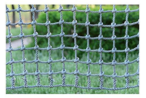 L.HPT - Red de escalada para niños, de nailon, para niños y adultos, ideal para jugar al árbol o escalada, red para exteriores, 15 - 14 mm., 1*10m/3.3*32.8ft