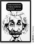 Der Hauptgrund für Stress ist der tägliche Kontakt mit Idioten ABOUKI® Kunstdruck [ideales...