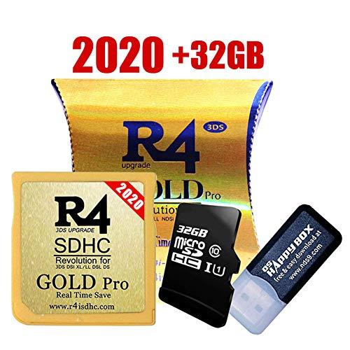 KYK SHOW The Gold (Gold pro) SDHC-Karte Mit 32 GB SD-Karte für DS/DS Lite/DSi/DSi XL / 3DS / 2DS - Kernel bereits installiert