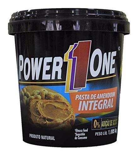 Pasta De Amendoim Power One Integral - 1kg