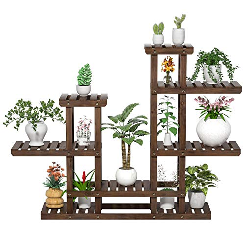 YAHEETECH 6 Tier Plant Stand Rack Shelf-Planter Holder Now $39.99