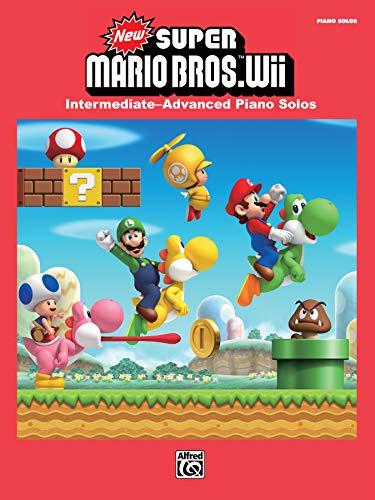 Super Mario Wii Edition | Klavier | Buch: Intermediate / Advanced Piano Solos