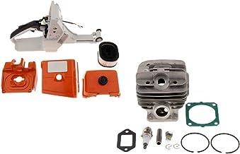 FLAMEER cilinderboutset + achterste greep kits geschikt voor Stihl MS440, 044 50 mm kettingzaag hoge kwaliteit