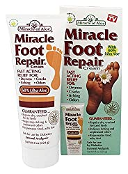 Athlete's Foot Cream Miracle Foot Repair by Ontel