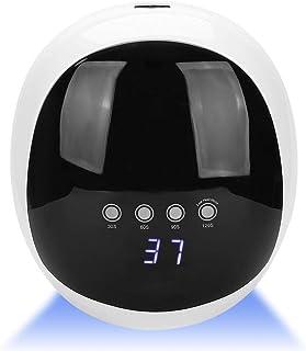 Lámpara De Uñas Led Uv, Lámpara De Secadora De Esmalte De Uñas Led Automática 52w Con Inducción Automática Infrarroja Con 4 Ajustes De Sincronización(1# UE)