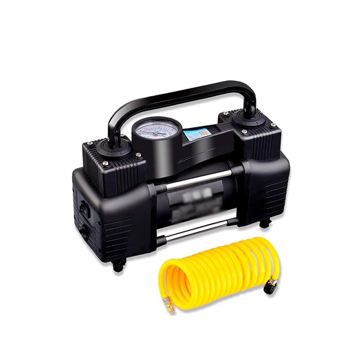 対称バーゲン男らしいQXKMZタイヤインフレータ、PSIタイヤポンプインフレータポータブル電動ポンプ、格納するのは簡単