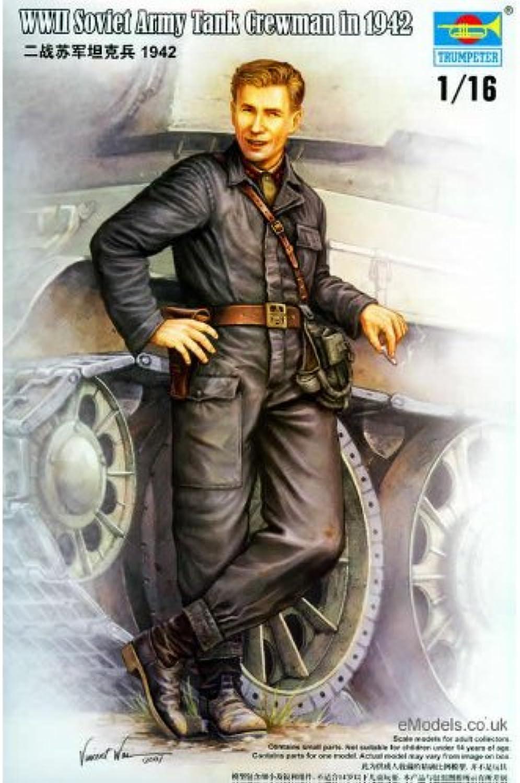 Trumpeter  Individual WWII Soviet Army Tank Crew