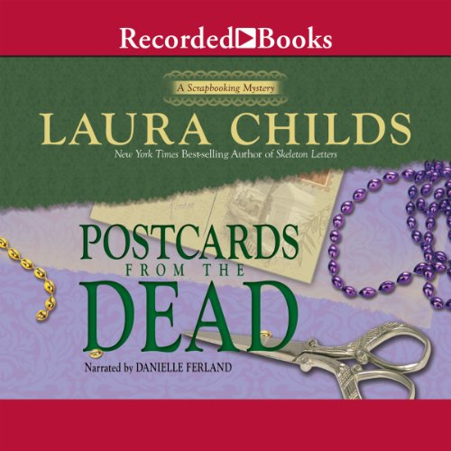 Postcards from the Dead     A Scrapbooking Mystery, Book 10              By:                                                                                                                                 Laura Childs                               Narrated by:                                                                                                                                 Danielle Ferland                      Length: 9 hrs and 18 mins     Not rated yet     Overall 0.0