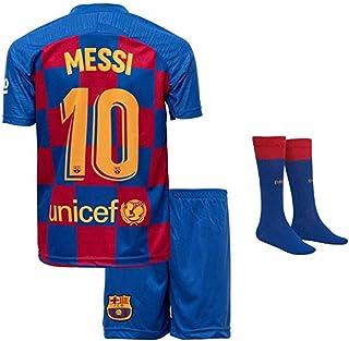 Jungen Fußball Trikot Set 2 Teilig Trainings Trikot Messi Unicef Rakuten #10 Ländertrikot