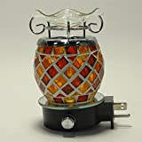 Electric Oil Warmer Diffuser Burner for Fragrance Scented Perfume Aroma Oils Wax Melts Aromatherapy & air freshener