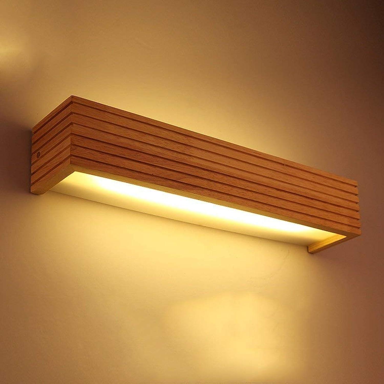 LED Holz Make-up-Spiegel Scheinwerfer A+ (Gre  S)