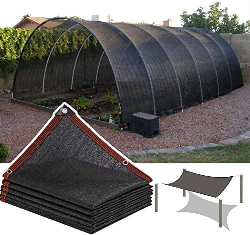 PYXZQW Shade Cloth 8-Pins Shading Net Encryption Thickening Summer Garden Sun Shelters,4x4m