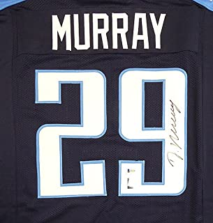 Tennessee Titans DeMarco Murray Signed Blue Jersey - Beckett Certified
