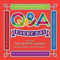 2021 Q&A Every Day 5.5インチ x 5.5インチ デイリーデスクトップカレンダー