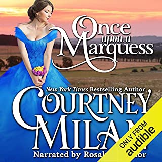 Once Upon a Marquess audiobook cover art