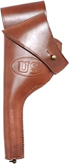 World War Supply Pre WW1 US New Army .38 DA Revolver Leather Holster for Colt or Smith & Wesson Marked JT&L 1910