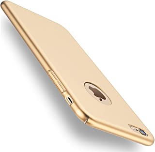 Funda iPhone 6/6s, Joyguard iPhone 6/6s Carcasa [Ultra-Delgado] [Ligera] Anti-rasguños Estuche para Case iPhone 6/6s - 4.7pulgada - Oro