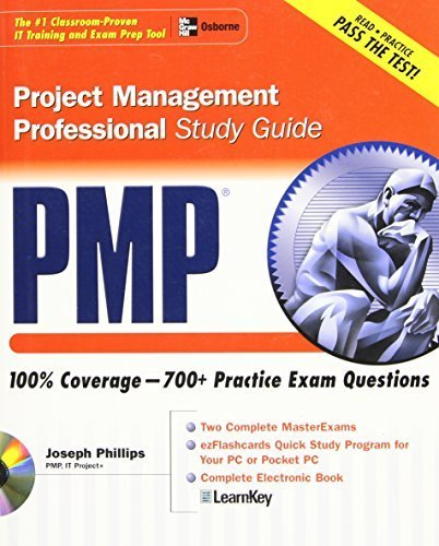 PMP Project Management Professional Study Guide (Certification Press) by Joseph Phillips (2003-12-24)