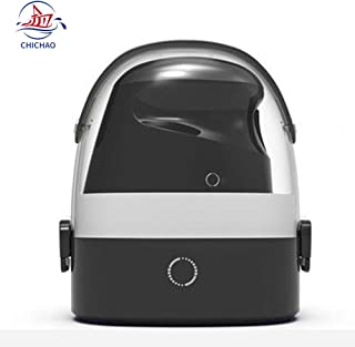 Red tide Handheld Ironing Machine-Household Nano Steam Iron, 800W / 450G Small Portable / 65ML Water Tank Electric Iron Travel Mini Ironing Clothes,E