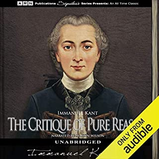 The Critique of Pure Reason audiobook cover art