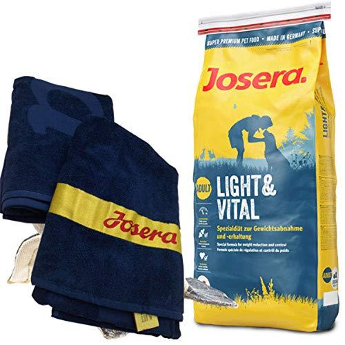 Josera 15 kg Light & Vital Strand-Handtuch 70 x 140 cm