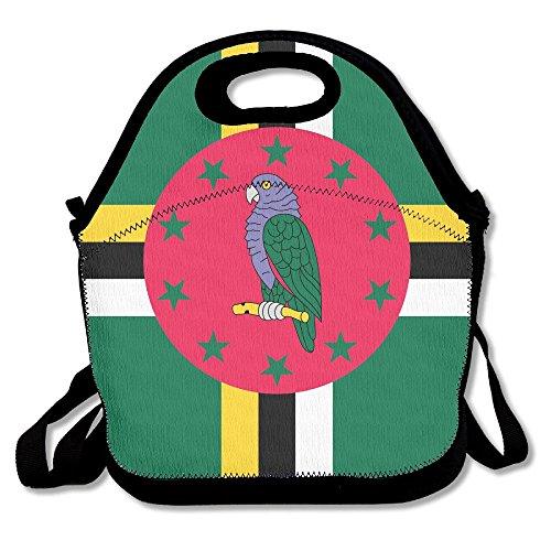 Ghf-LUNCHBAG - Bolsa de Almuerzo con Bandera de Dominica