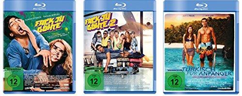 Fack ju Göhte / Fuck you Göthe 1+2 & Türkisch für Anfänger im Set - Deutsche Originalware [3 Blu-rays]